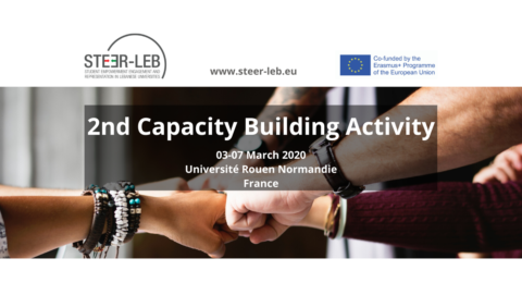 2nd Capacity-Building Activity: University of Rouen, France // 3-7 March 2020