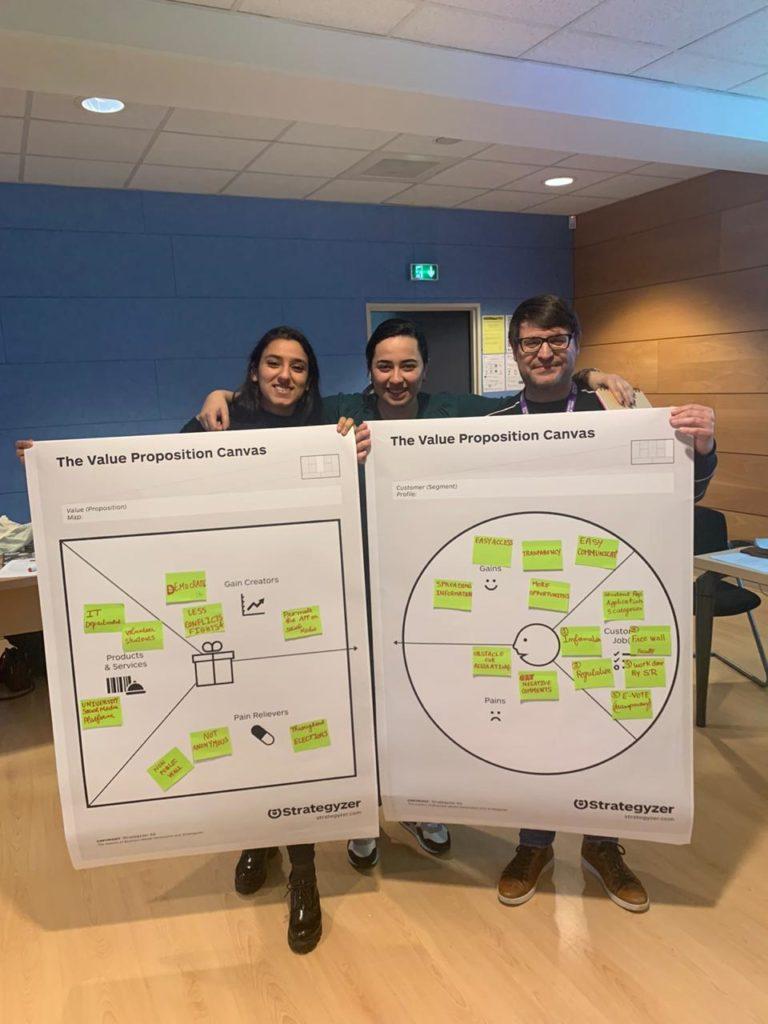 CB Rouen Communication Workshop canva team 1