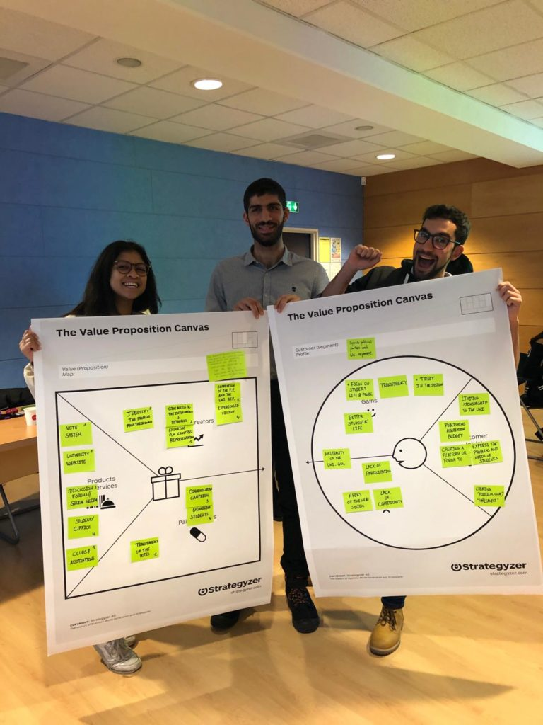 CB Rouen Communication Workshop canva team 2