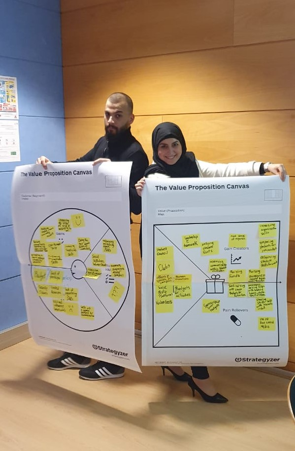 CB Rouen Communication Workshop canva team 3