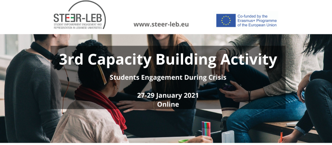 3rd Capacity-Building Activity: Students Engagement during Crisis // 27-29 January 2021